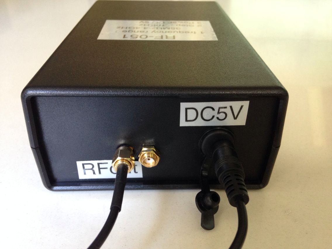 RF Radio Frequency Signal Generator 35MHz to 4 4GHz, goodsmega